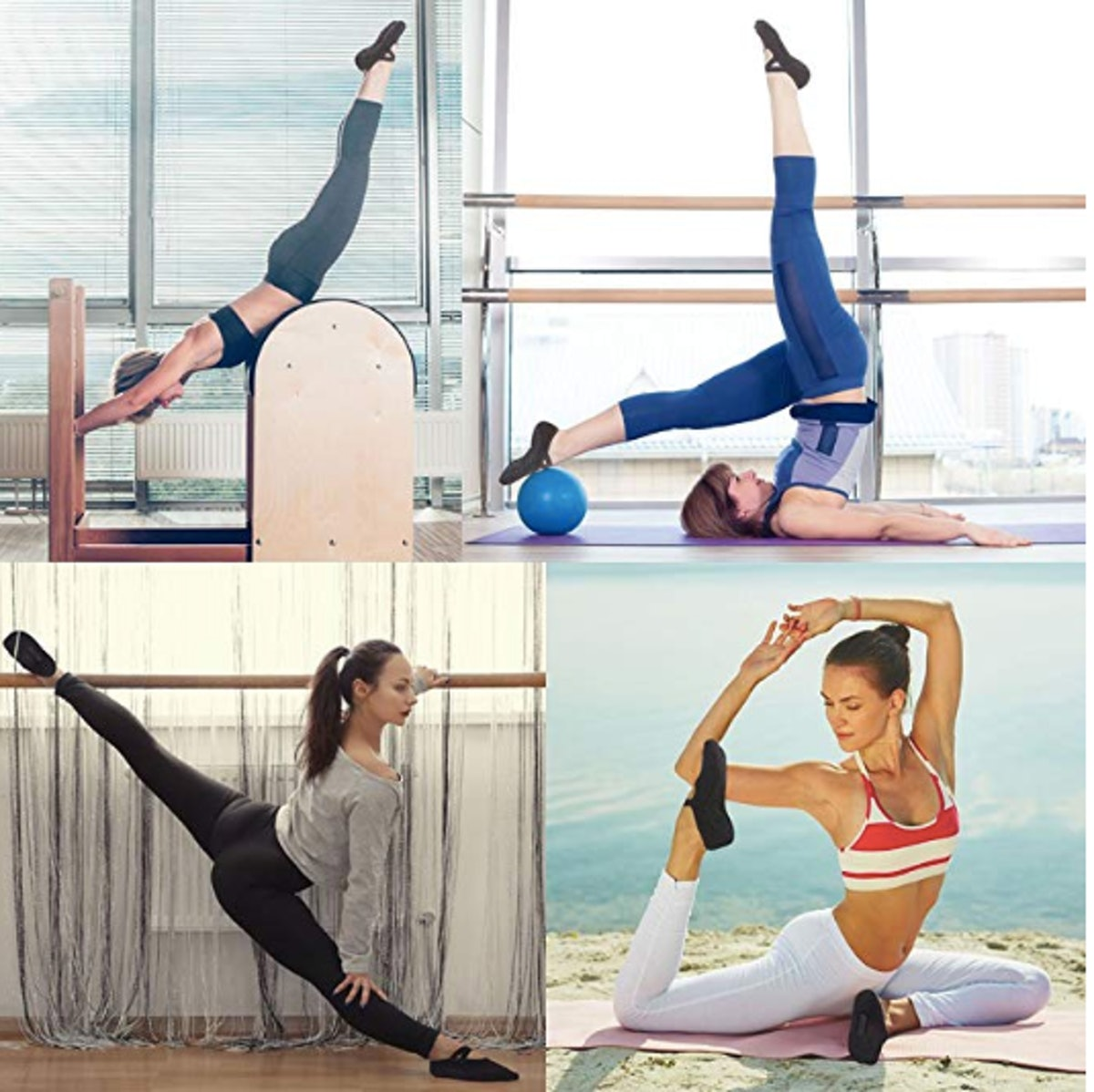 Qing Yoga Socks (3 Pack)