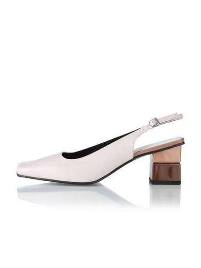 Square- Toe Pumps