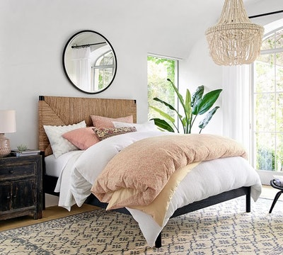 Corbin Woven Bed