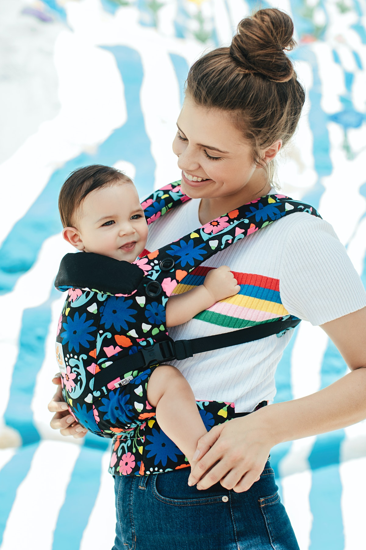 The Ergobaby French Bull Collection Is Turning Babywearing Into An Actual Art
