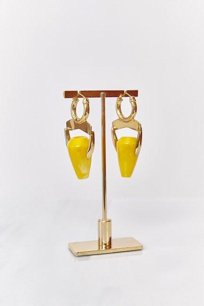 Magic Realism Vase Earring