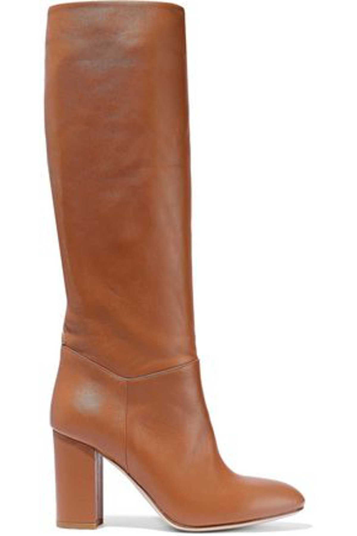 Ruby Leather Knee Boots