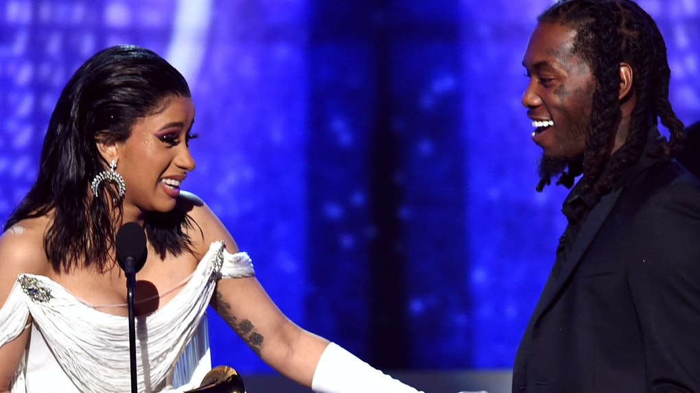 Cardi B S New Back Tattoo Might Be Her Biggest One Yet: 6 Signs Cardi B & Offset Are Back Together, Because They