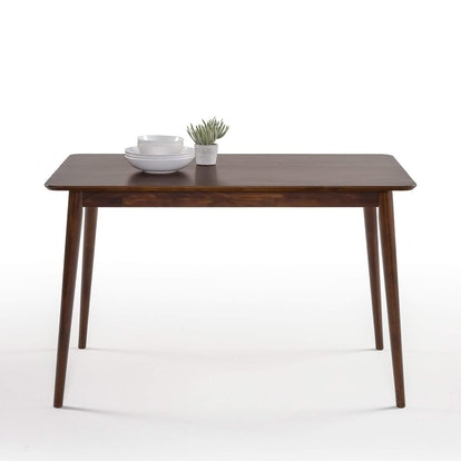 Zinus Jen Mid-Century Modern Wood Dining Table