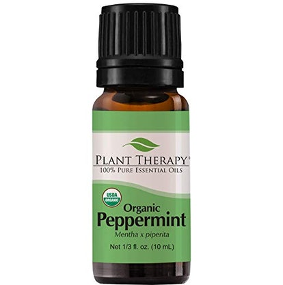 Plant Therapy Organic Peppermint Oil (10 mL)