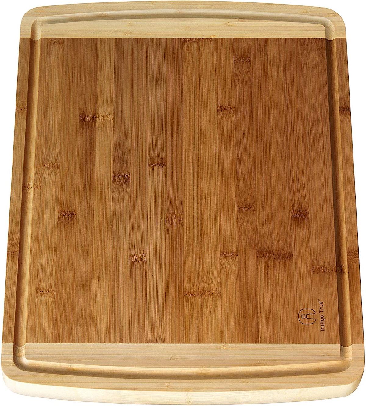 Indigo True Bamboo Cutting Board