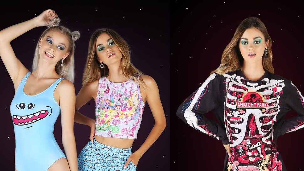 Where To Buy BlackMilk's 'Rick & Morty' Clothing Collection