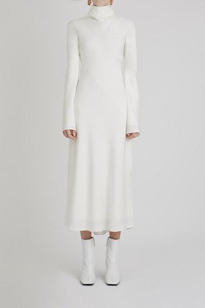 Gotham Cowl Midi Dress