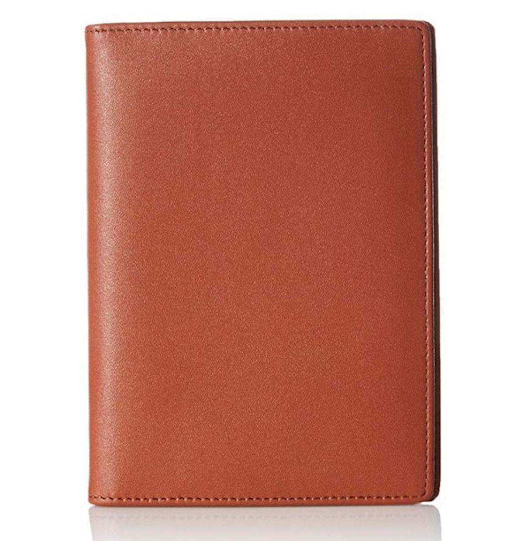 AmazonBasics Leather RFID Blocking Passport Wallet