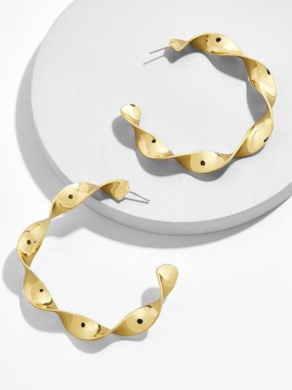 Nabina Hoop Earrings
