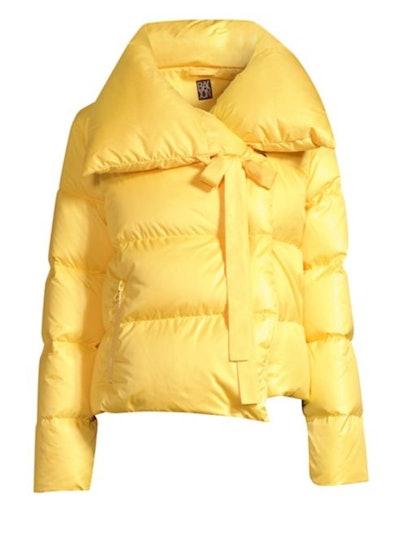 Puffa Cropped Jacket