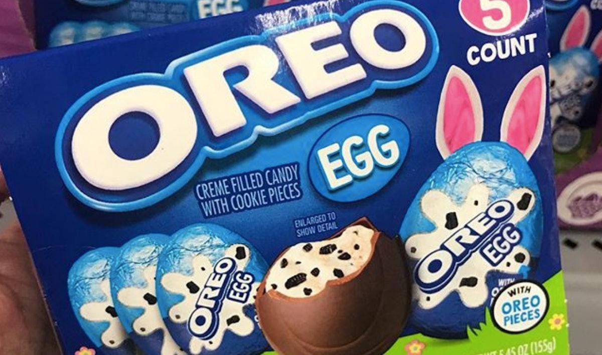 Oreo Eggs Just Hit Walmart & They Are An Oreo Cream Lover's DREAM