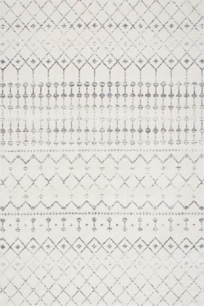"Moroccan Trellis Rug, Gray, 5'x7'5"""