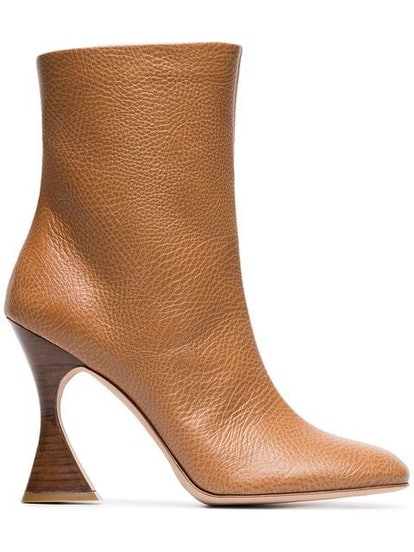 Toffee Brown Emma 100 Leather Boots