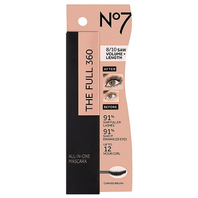 No7 The Full 360 All-In-One Mascara, Black