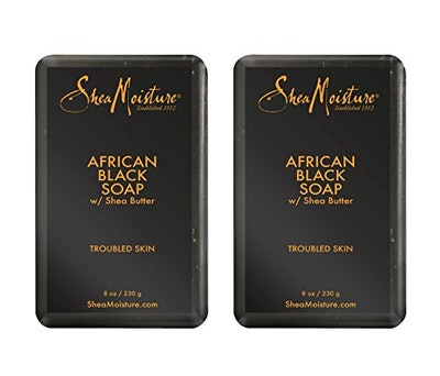 SheaMoisture African Black Soap With Shea Butter (2 Pack)