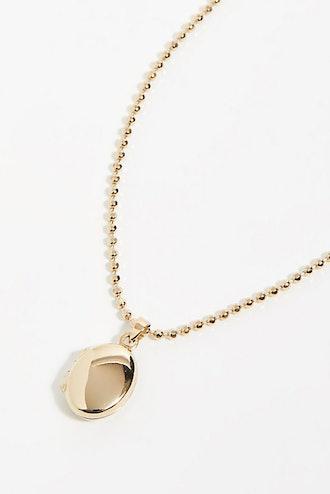 14K Locket Necklace