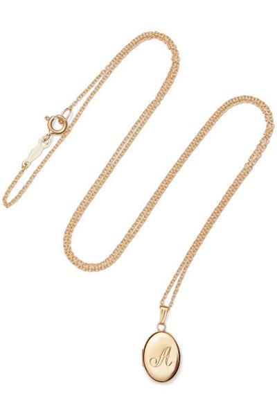 Dollhouse 14-Karat Gold Necklace