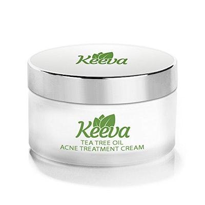 Keeva Tea Tree Oil Acne Treatment Cream