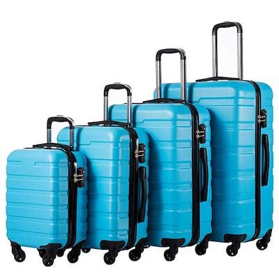 COOLIFE Luggage 4-Piece Set