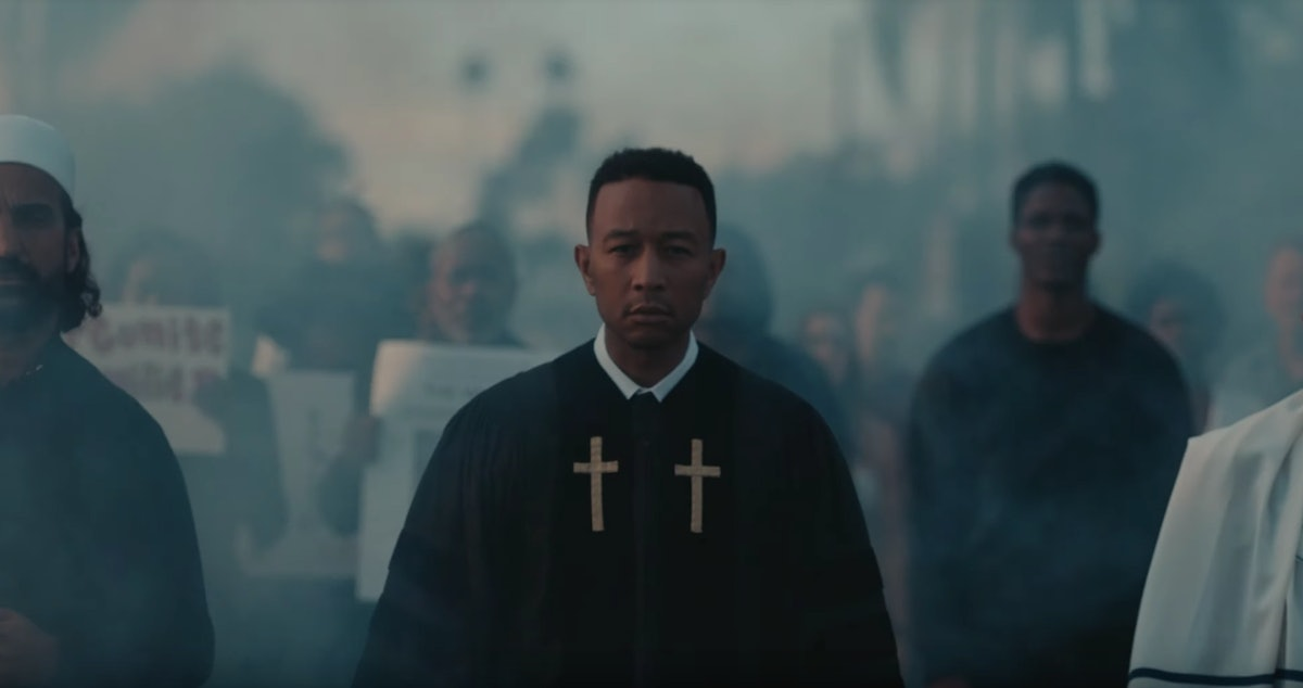"John Legend's New Single ""Preach"" Is Encouraging Fans To Take Action Against Injustice — VIDEO"