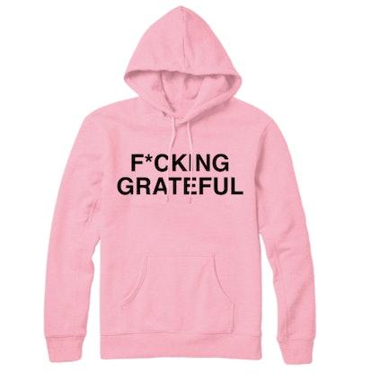 f*cking grateful hoodie + digital album