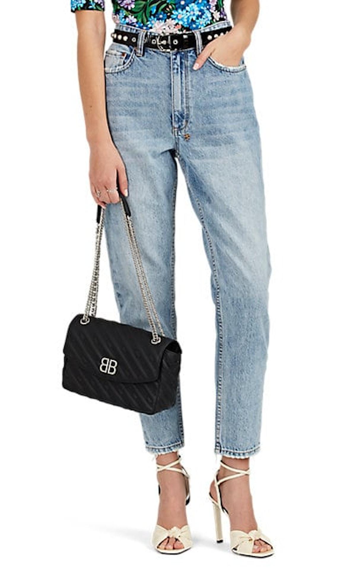Arrow High-Rise Skinny Jeans