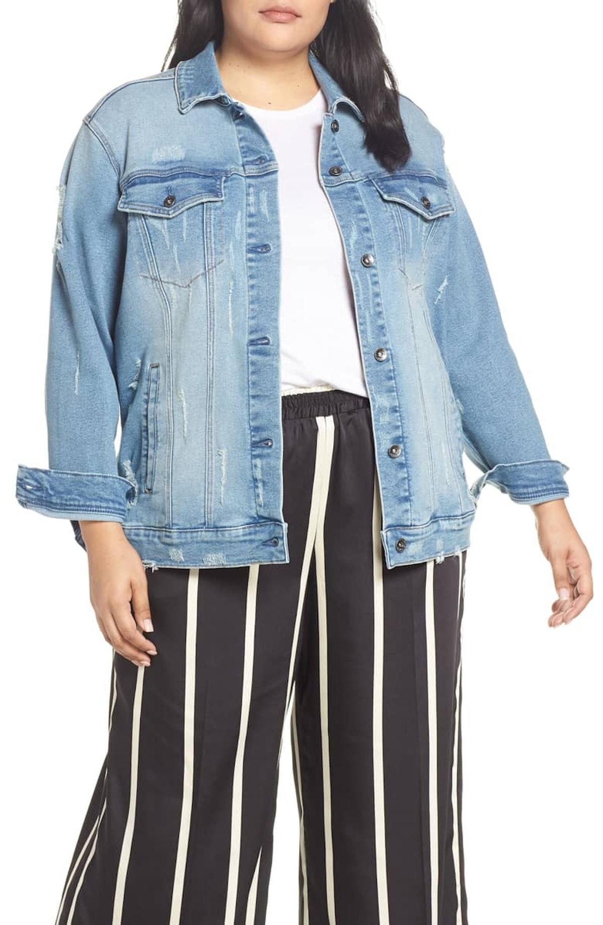 Perfect Vintage Distressed Boyfriend Jacket