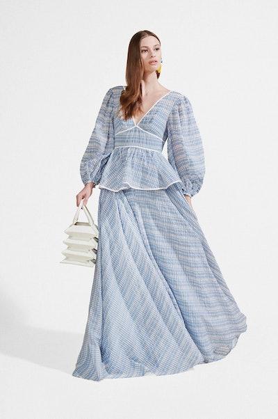 Panarea Dress Coastal Blue