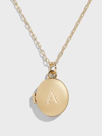Deva Alpha Locket Necklace