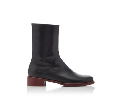 Marina Moscone Chelsea Leather Boots