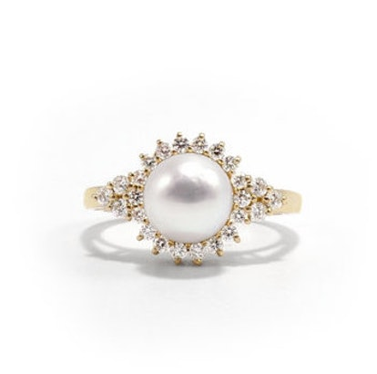 Giverny Pearl Ring
