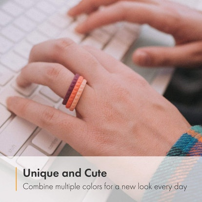 Enso Stackable Silicone Rings