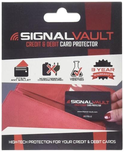 SignalVault Credit Card Protectors