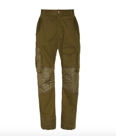 Prabal Gurung Dylan Cotton-Twill Cargo Pants