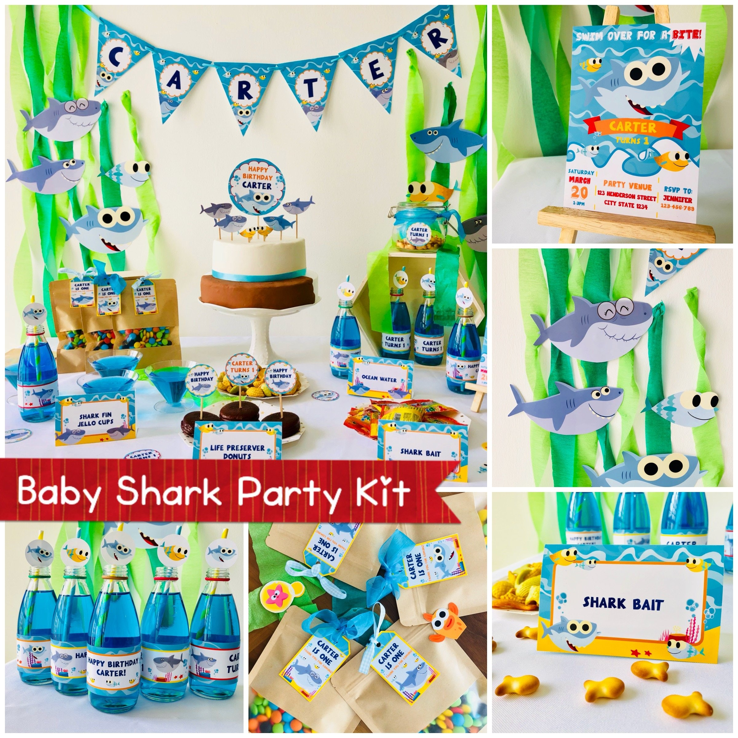 Baby Shark Birthday Party Ideas For When The Obsession Has Finally Reached Status