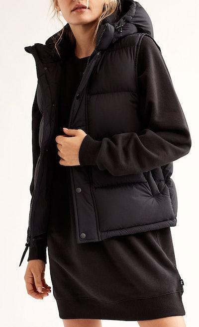 The Super Puff Vest In Black