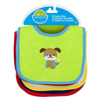 Neat Solutions Baby Bibs (10 Count)