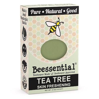 Beessential Tea Tree Skin Refreshening Bar Soap