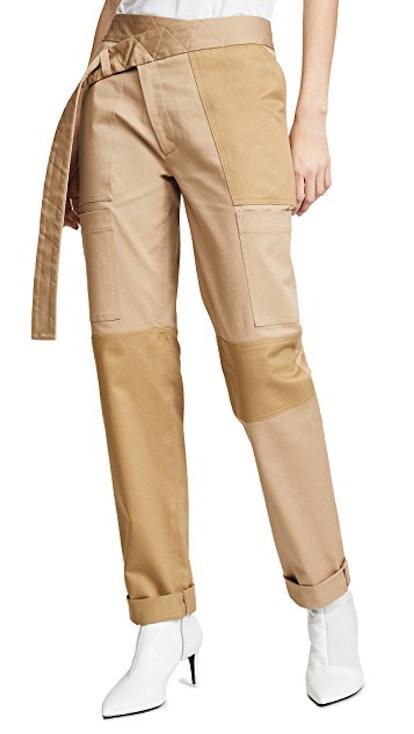 Straight Leg Cargo Pants