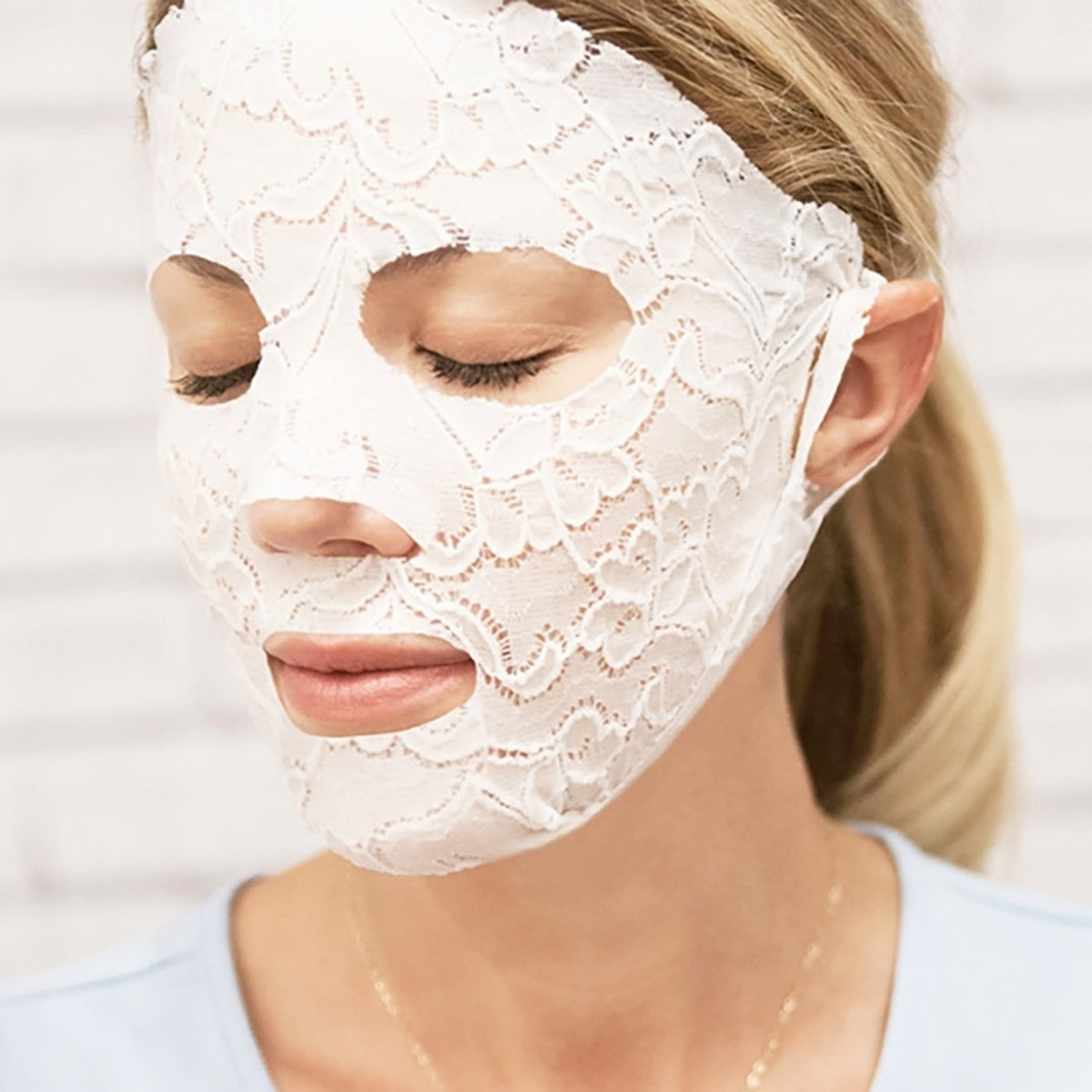 Lace Your Face Compression Facial Mask,