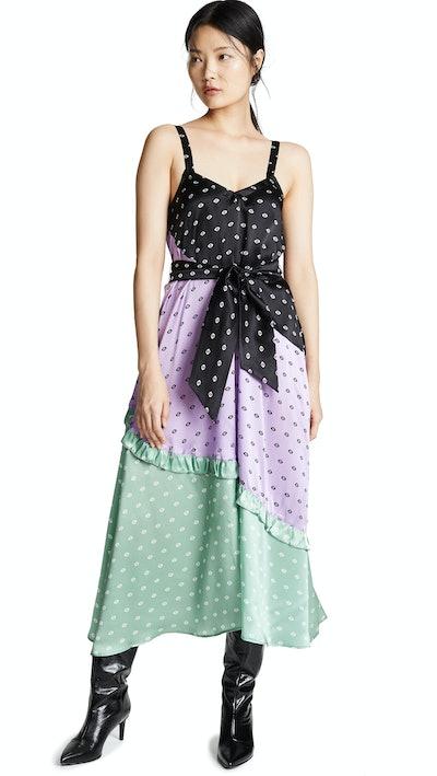 Cannes Silk Dress