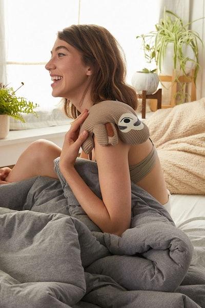 Huggable Sloth Cooling + Heating Pad