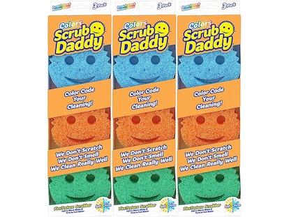 Scrub Daddy Temperature-Controlled Scrubbers (9 Pack)