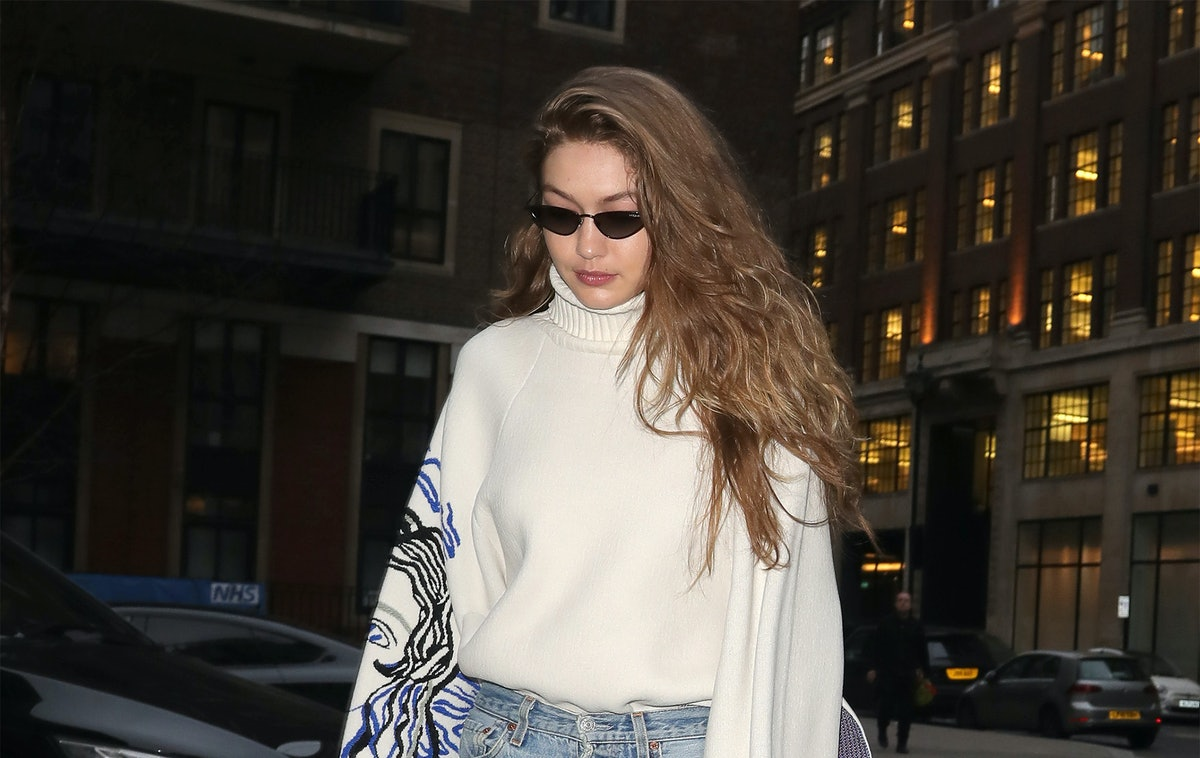 Gigi Hadid's Blue Mules Will Be Your Wear-With-Everything Shoes This Spring