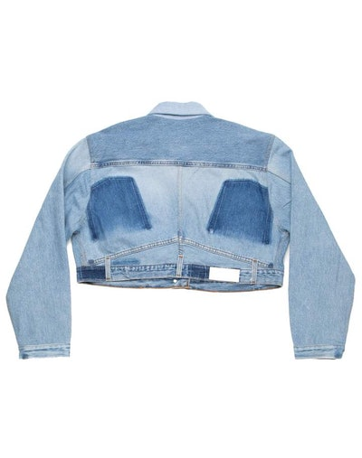 Reconstructed Jean Jacket