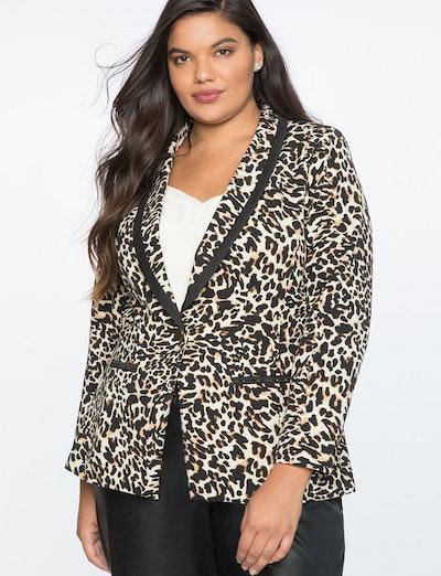 Leopard Suit Blazer
