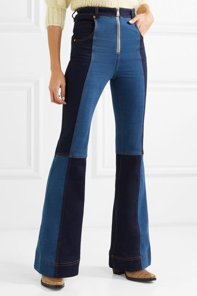 alice McCALL Hometown Patchwork Flared Jeans
