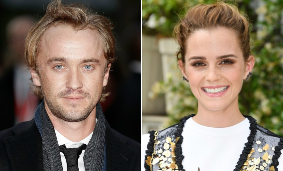 Tom Felton's Photo Of Emma Watson Is So Sweet, It'll Give You All The 'Harry Potter' Feels