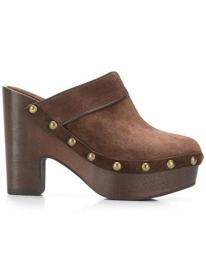 Chunky Heel Clogs